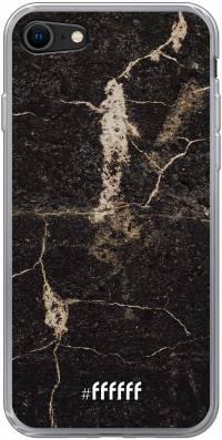 Dark Golden Marble iPhone 8