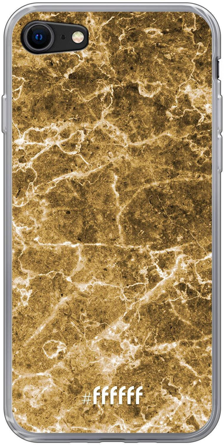 Gold Marble iPhone 8