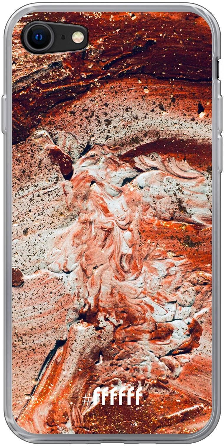 Orange Red Party iPhone 8