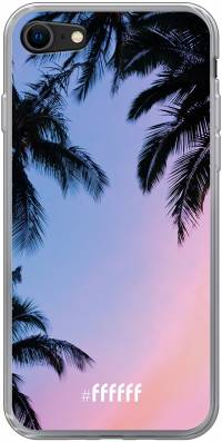 Sunset Palms iPhone 8