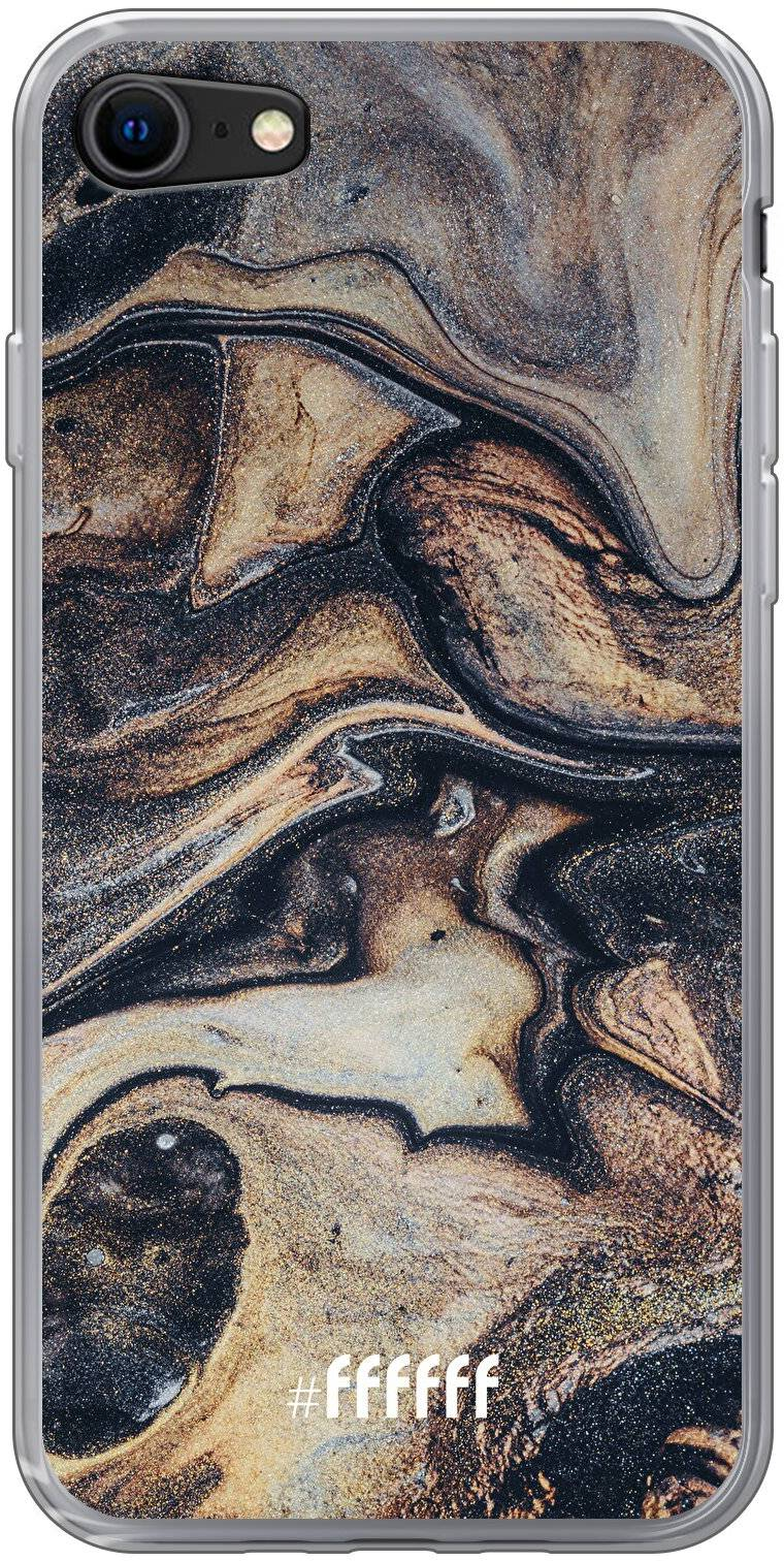 Wood Marble iPhone 8