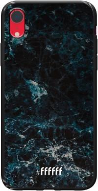 Dark Blue Marble iPhone Xr