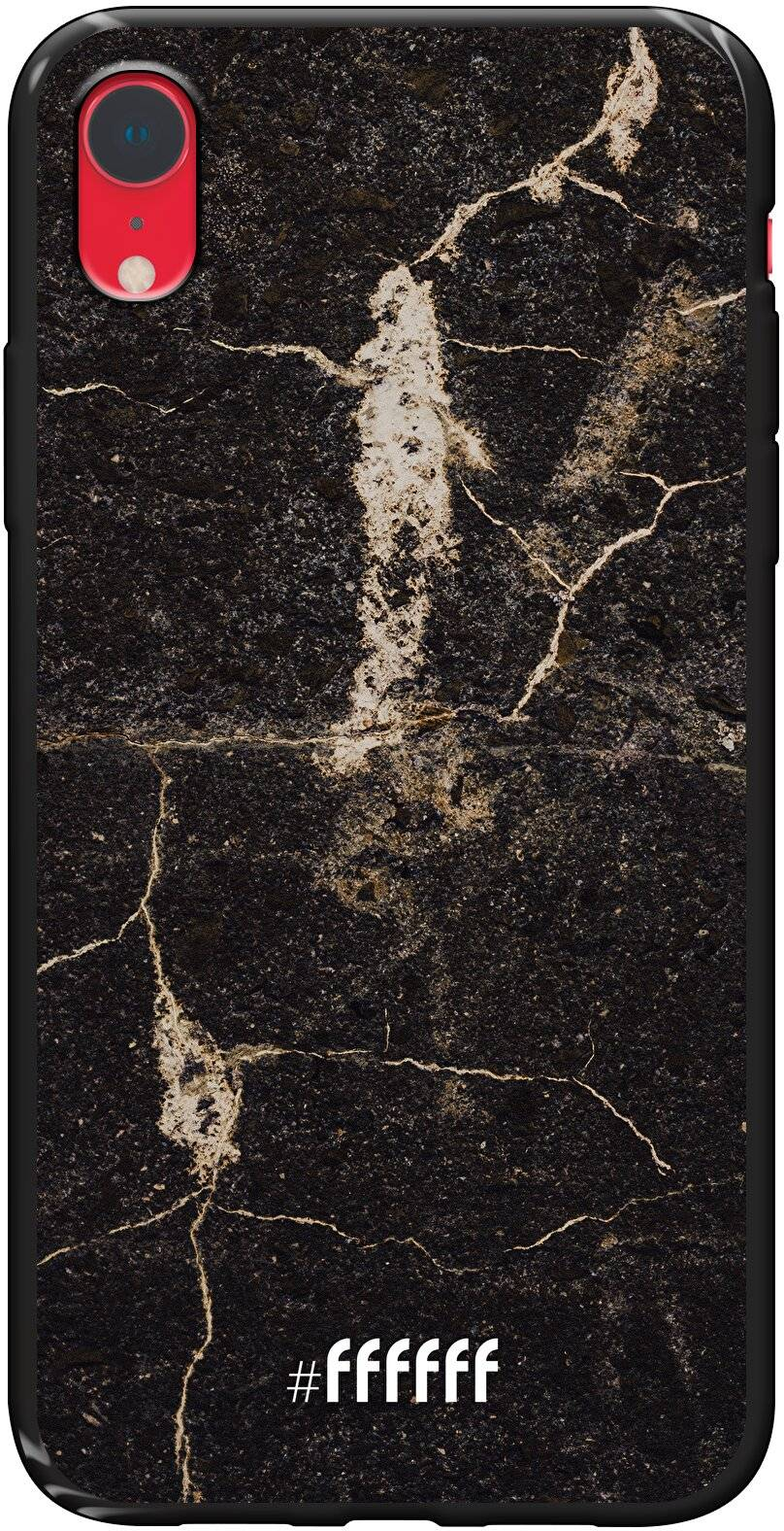 Dark Golden Marble iPhone Xr