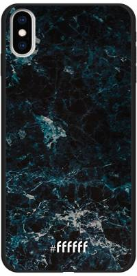 Dark Blue Marble iPhone Xs Max