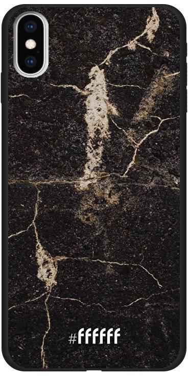 Dark Golden Marble iPhone Xs Max