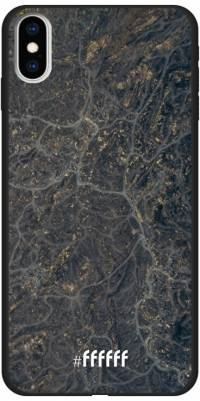 Golden Glitter Marble iPhone Xs Max