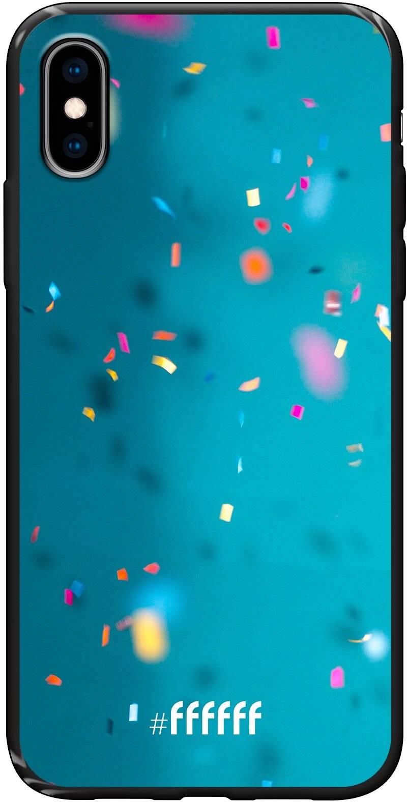 Confetti iPhone Xs