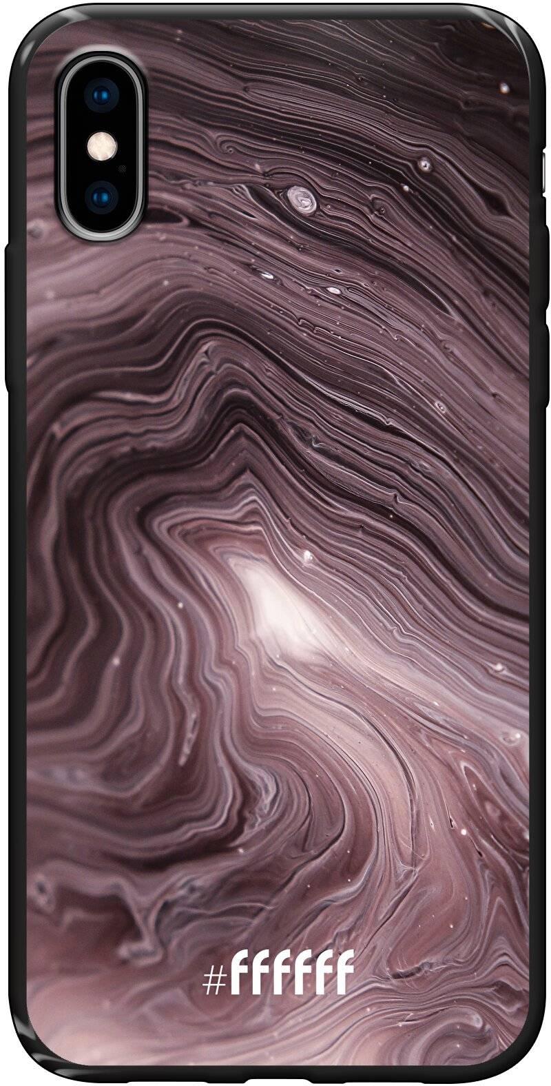 Purple Marble iPhone Xs