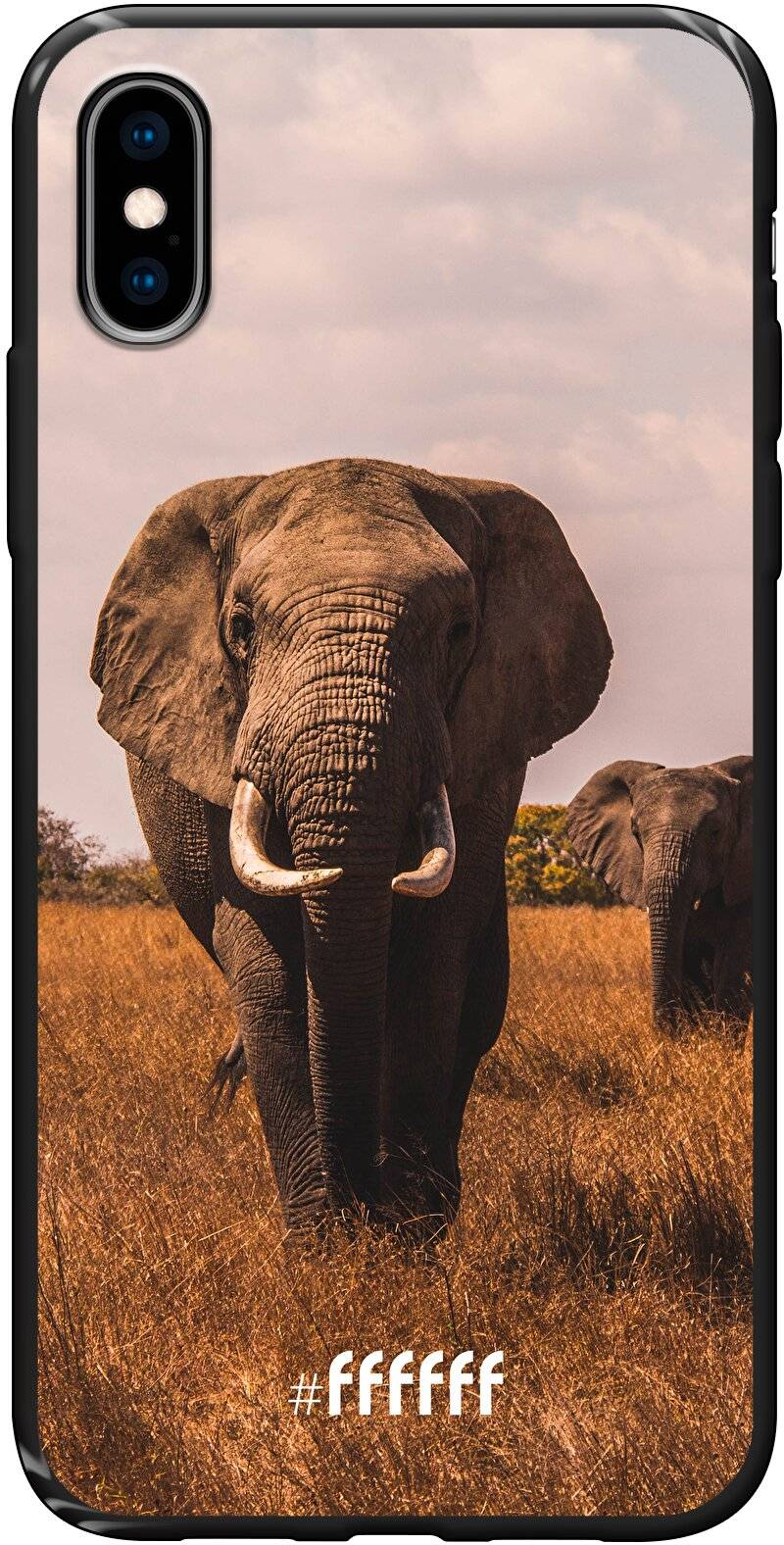 Elephants iPhone X