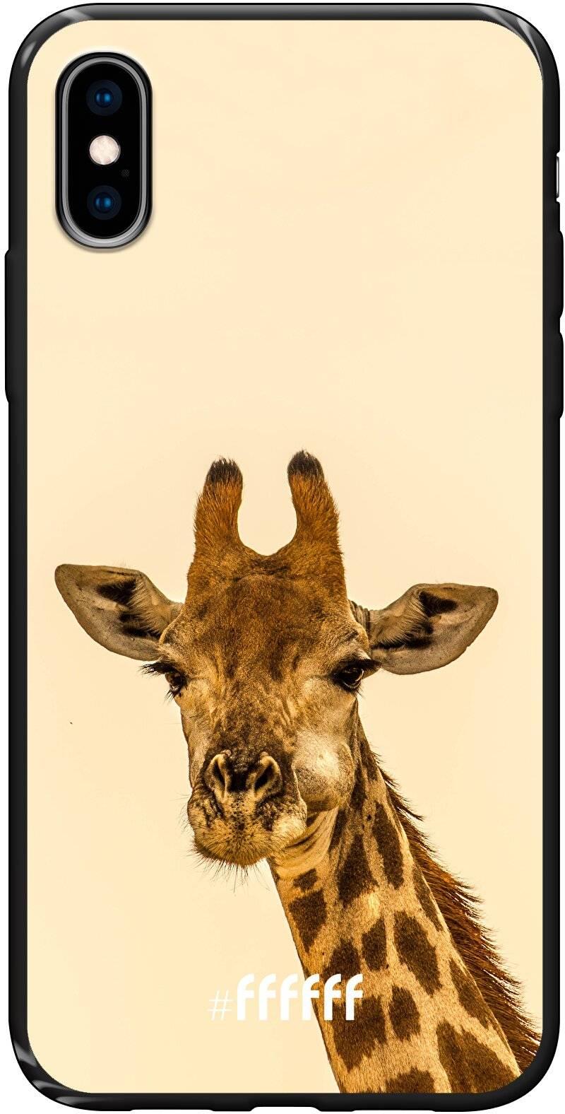 Giraffe iPhone X