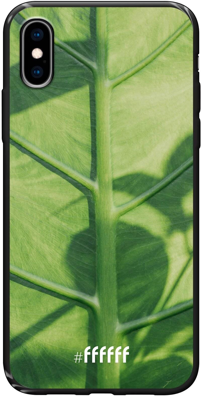 Leaves Macro iPhone X