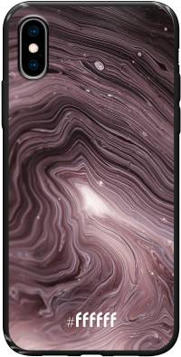 Purple Marble iPhone X