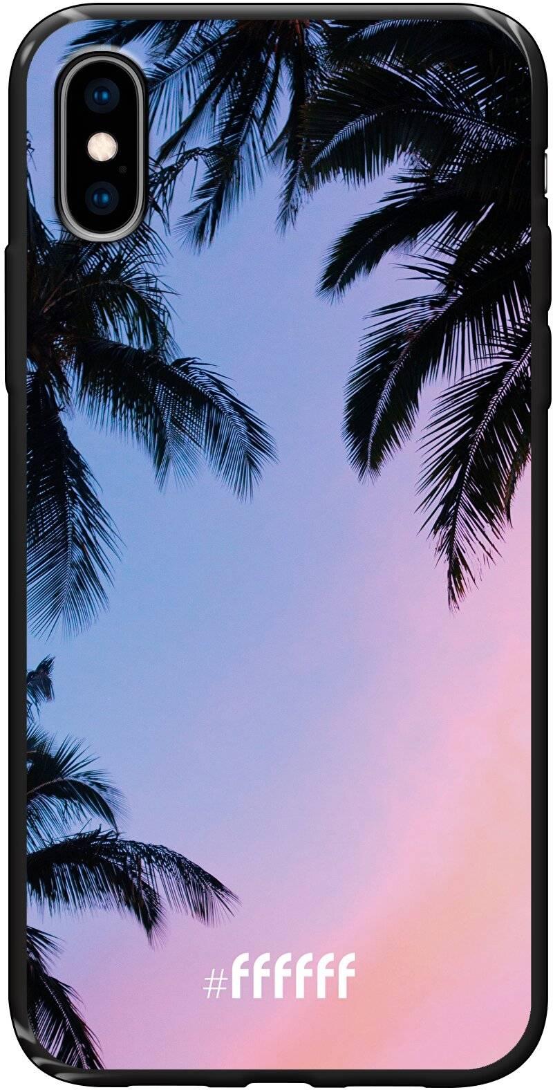 Sunset Palms iPhone X